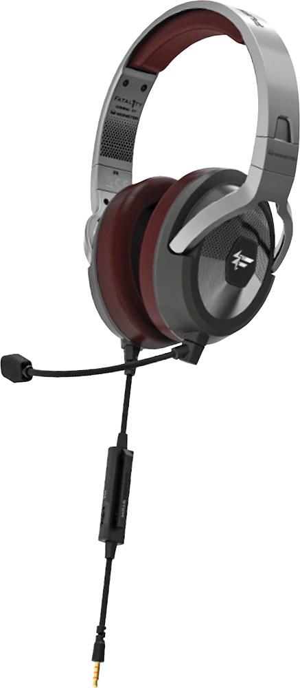 Monster - Fatal1ty FXM 200 On-Ear Headphones - Black matt