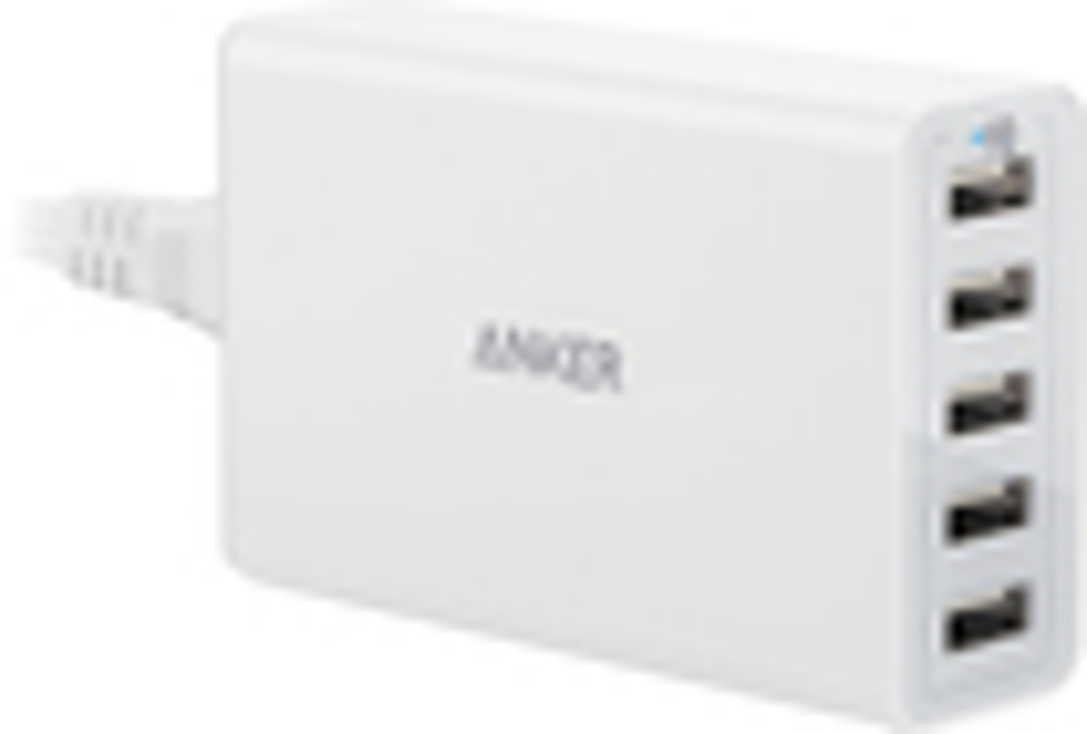 Anker - 5-port Usb Charging Hub - White 5286502