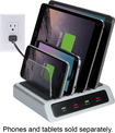 Atomi - 4 Port Usb Desktop Charge Station - Black