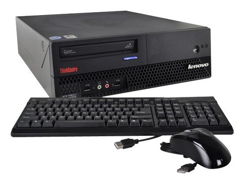 Lenovo - Refurbished ThinkCentre Desktop - Intel Core2 Duo - 2GB Memory - 120GB Hard Drive - Black