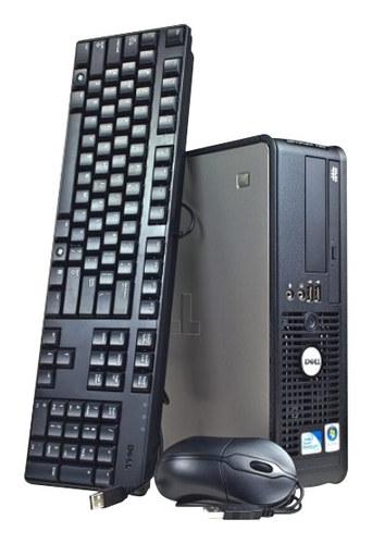 Dell - Refurbished OptiPlex Desktop - Intel Core2 Duo - 4GB Memory - 1TB Hard Drive - Gray/Black