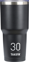Takeya - Thermotumbler 30-oz. Thermal Cup - Asphalt 5293000