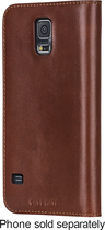 Case-Mate - Wallet Folio Case for Samsung Galaxy S 5 Cell Phones - Brown
