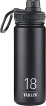 Takeya - 18oz. Stainless Steel Thermoflask - Asphalt 5293100