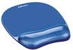 Fellowes - Gel Mousepad/Wrist Rest - Crystals, - Blue
