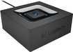 Logitech - Wireless Bluetooth Speaker Adapter - Black
