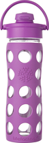 Lifefactory - 16.1-oz. Drinking Bottle - Huckleberry