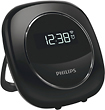Philips - Alarm Clock - Black