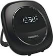 Philips - Alarm Clock - Black