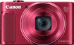 Canon - Powershot Sx620 Hs 20.2-megapixel Digital Camera - Red