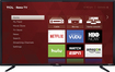 "Tcl - 48"" Class (47.6"" Diag.) - Led - 1080p - Smart - Hdtv - Roku Tv - Black"