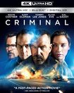 Criminal [4k Ultra Hd Blu-ray/blu-ray] 5301003