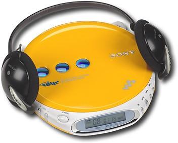 CD-R/RW Compatible Walkman...