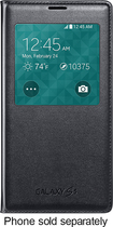Samsung - S-View Flip Cover for Samsung Galaxy S 5 Cell Phones - Black