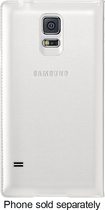 Samsung - Wallet Flip Cover for Samsung Galaxy S 5 Cell Phones - White