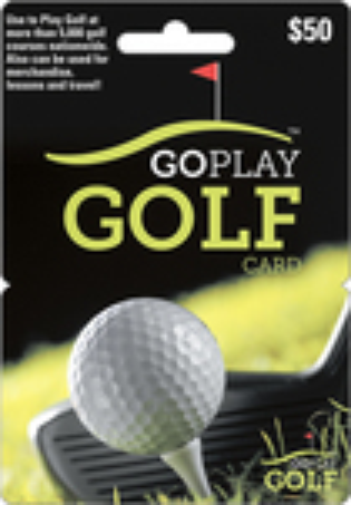 Go Play Golf - $50 Gift Card 5310901