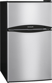 Frigidaire - 3.1 Cu. Ft. Compact Refrigerator - Stainless Steel