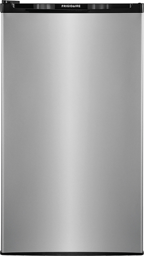 Frigidaire - 3.3 Cu. Ft. Compact Refrigerator - Stainless Steel