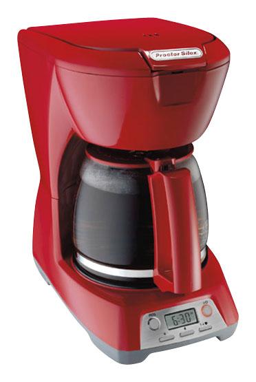 Proctor Silex - 12-Cup Coffeemaker - Red