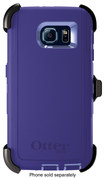 OtterBox - Defender Series Case for Samsung Galaxy S 6 Cell Phones - Purple Amethyst
