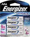 Energizer - Ultimate Lithium AA Batteries (8-Pack)