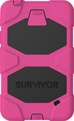 "Griffin Technology - Survivor Case for Samsung Galaxy Tab 4 7"" - Black/Pink"
