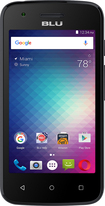 Blu - Dash L2 D250u Gsm 4g Cell Phone  - Black