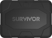 Griffin Technology - Survivor Case for Samsung Galaxy Tab 4 10.1 - Black