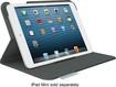 Logitech - Folio Case for Apple® iPad® mini and iPad mini with Retina display - Carbon Black