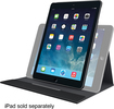 Logitech - Turnaround Case for Apple® iPad® Air - Intense Black