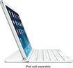 Logitech - Ultrathin Keyboard Cover for Apple® iPad® Air - Silver