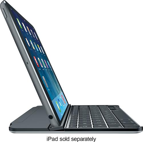 Logitech - Ultrathin Keyboard Cover for Apple® iPad® mini and iPad mini with Retina display - Space Gray