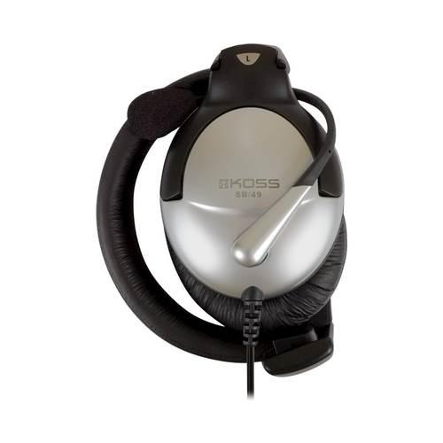 Koss - SB 49 Over-the-Ear Headphones - Silver, Black