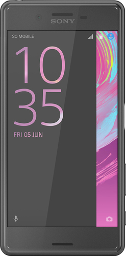 Sony - Xperia X Performance 4G LTE with 32GB Memory Cell Phone (Unlocked) - Graphite black