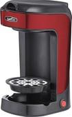 Bella - 1-cup Coffeemaker - Red