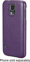 Insignia™ - Snap Case for Samsung Galaxy S 5 Cell Phones - Purple