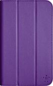 "Belkin - Trifold Cover for Samsung Galaxy Tab 4 7"" - Purple"