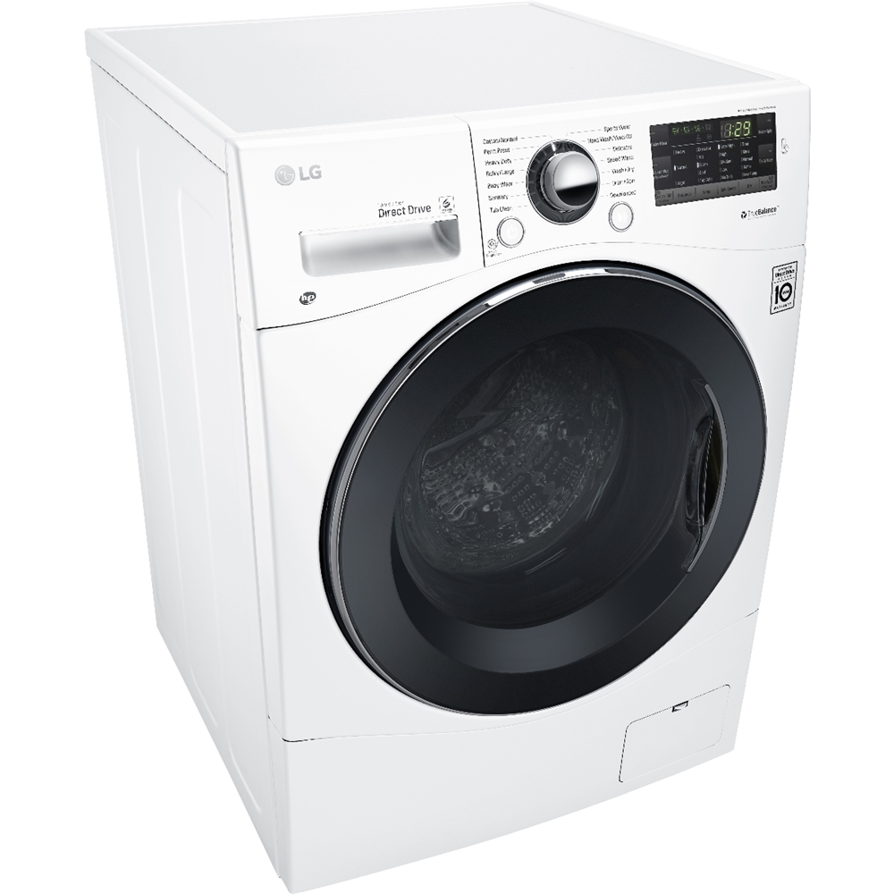 Lg 2 3 cu ft all in one washer and dryer - Lg 2 3 Cu Ft 14 Cycle Front Loading Compact Washer And 7 Cycle Dryer Combo With Steam White At Pacific Sales