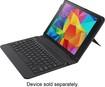 Belkin - Keyboard Case for Samsung Galaxy Tab 4 10.1 - Black