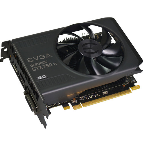 Evga - GeForce GTX 750 Ti Graphic Card - 1.18 GHz Core - 2 GB GDDR5 Sdram - PCI Express 3.0 x16