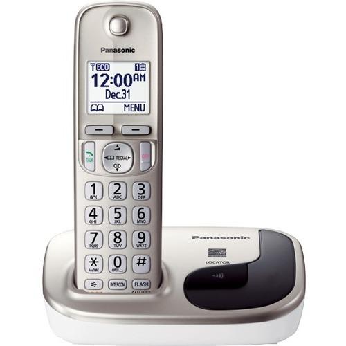 Panasonic - Dect 6.0 Cordless Phone - Silver