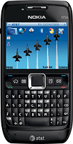 Nokia - E71x Mobile Phone (unlocked) - Black