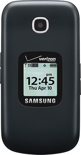 Verizon Wireless Prepaid - Samsung Gusto 3 No-Contract Cell Phone - Dark Blue