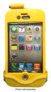 driSuit - Endurance Waterproof Case for Apple® iPhone® 4 and 4S - Marine Yellow