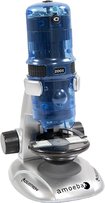 Celestron - Amoeba Digital Microscope - Blue