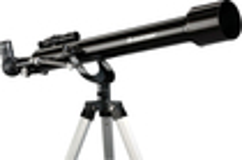 Celestron - PowerSeeker 60AZ Refractor Telescope - Black