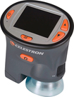 Celestron - Portable LCD Digital Microscope - Gray\Orange