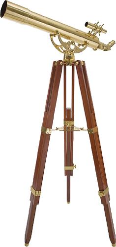 Celestron - Ambassador 80 AZ Brass Telescope - Brass