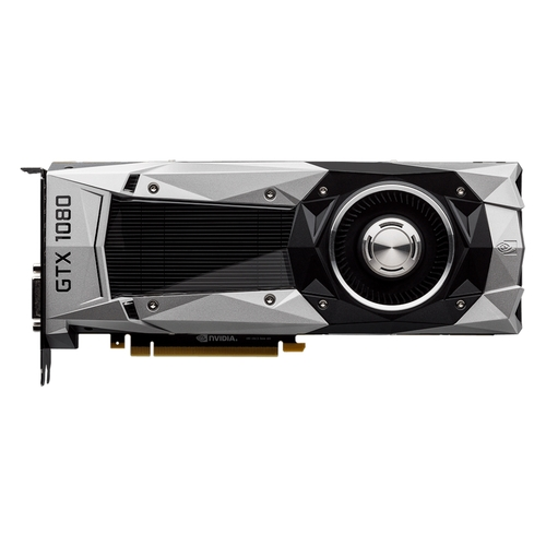 MSI - GeForce GTX 1080 Founders Edition 8GB GDDR5X PCI Express 3.0 Graphics Card