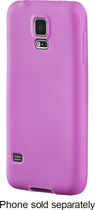 Insignia™ - Case for Samsung Galaxy S 5 Cell Phones - Purple